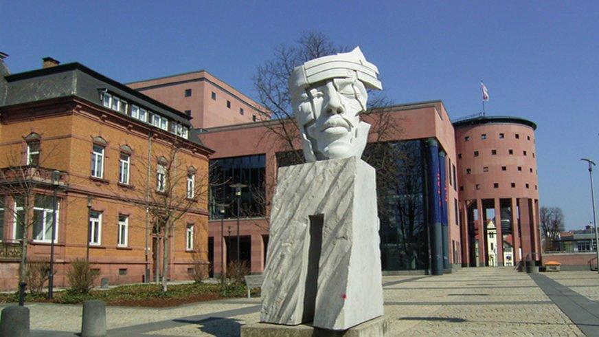 Das Pfalztheater in Kaiserslautern