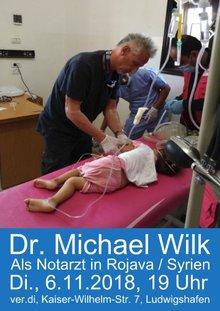 Bild des Notarztes bei der Behandlung