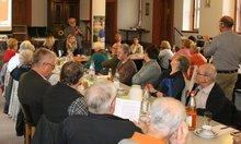 Gruppenfoto bei einer Veranstaltung