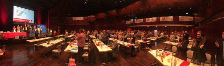 Bildpanorame der Konferenz
