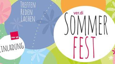 Illustration des Sommerfestes
